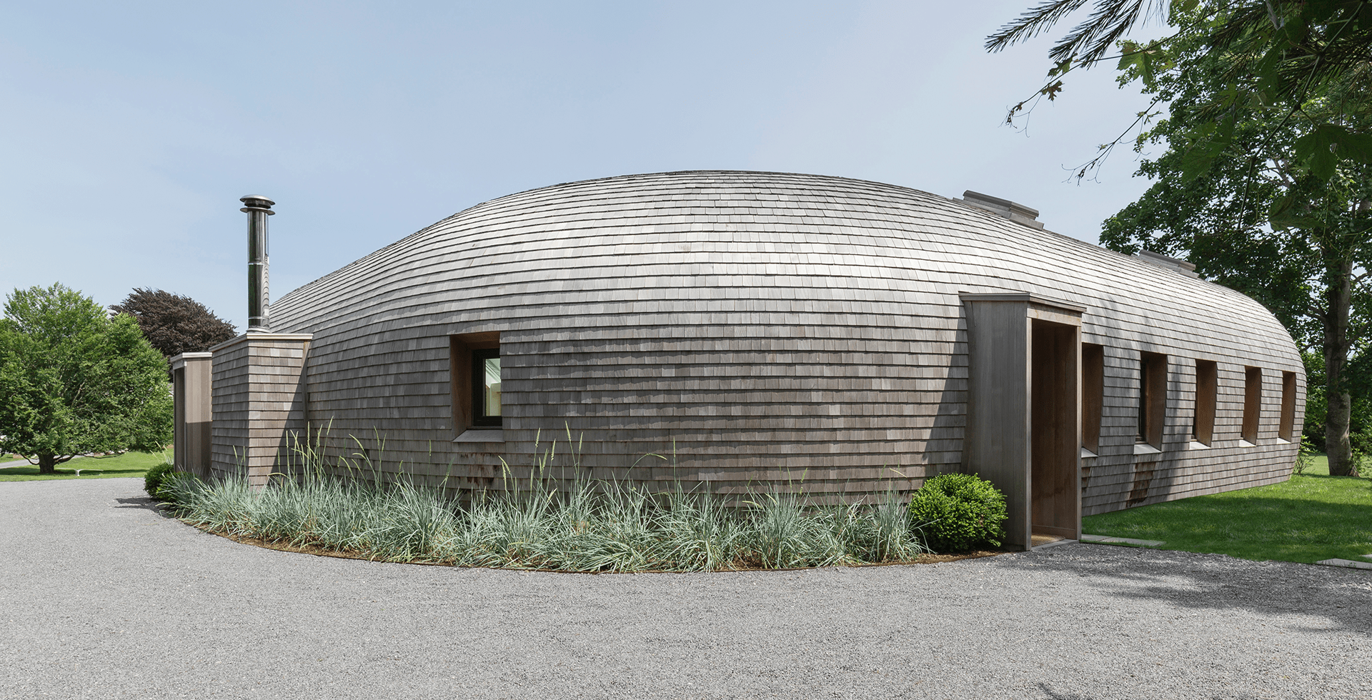 georoof acoperis lemn de cedru cabana conica